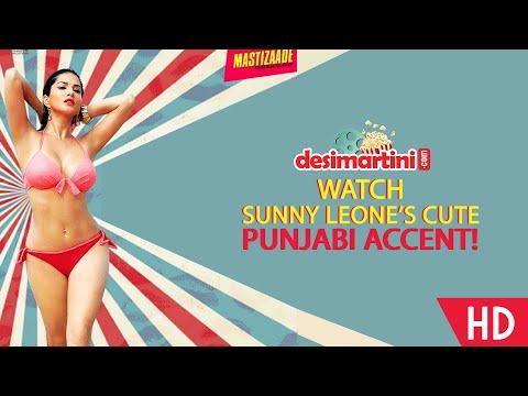 Watch Sunny Leone's Cute Punjabi Accent