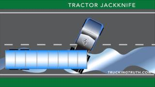 What Happens In A Tractor Jackknife? - TruckingTruth.com