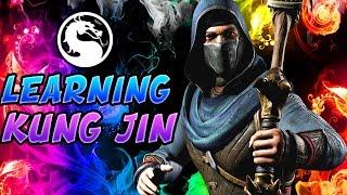 Mortal Kombat X: TRYING TO LEARN KUNG JIN! - Mortal Kombat XL Kung Jin Gameplay