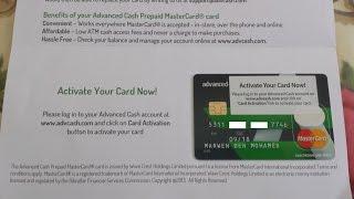 Comment créer un compte bancaire advcash + active paypal
