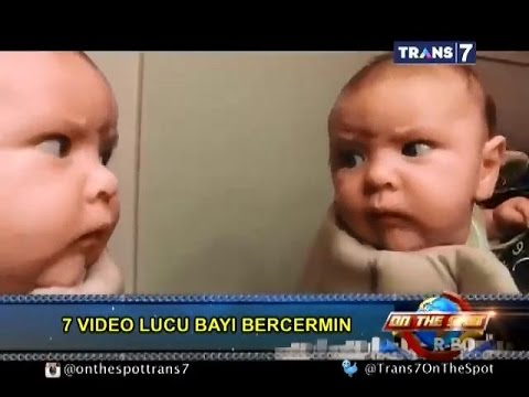 On The Spot - 7 Video Lucu Bayi Bercermin