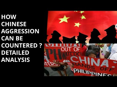 watch HOW CHINESE AGGRESSION CAN BE COUNTERED ?  DETAILED ANALYSIS