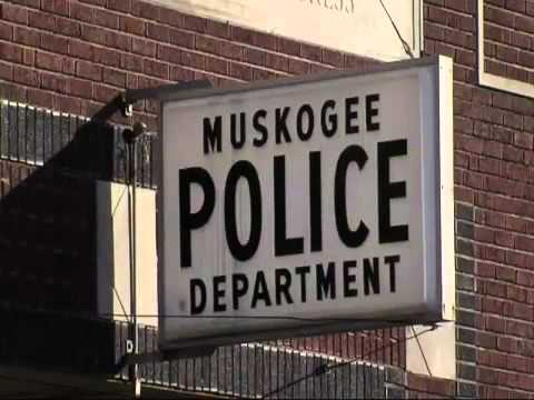 Muskogee officer on the other side of the law