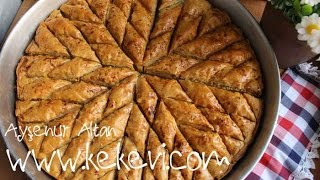 How To Make Star Baklava Shape