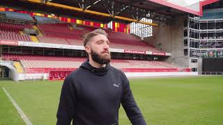 Brandon Borrello of 1.FC Kaiserslautern