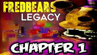 FNAF NOVEL | FREDBEARS LEGACY CHAPTER 1 | Five Nights at Freddy's Novel Reading