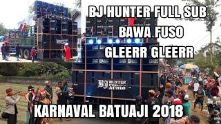 BJ HUNTER bawa FUSO karnaval BATUAJI | Bersih Lur mantap GLEER