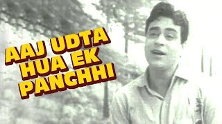 आज उड़ता हुआ एक पंछी - मो. रफ़ी हिट्स | पुराने हिंदी गीत | राजेंद्र कुमार | गहरा दाग