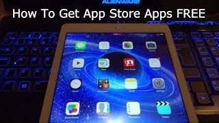 How To Get Paid App Store Apps FREE iOS 9 / 10 / 11 iPhone, iPad & iPod Touch