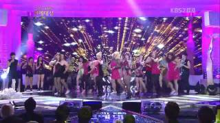 111224 Dance covers + Secret - Love is Move on 2011 KBS Entertainment Awards