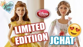Disney BEAUTY AND THE BEAST Live-Action LIMITED EDITION DOLLS REACTION/ THOUGHTS - JCHAT