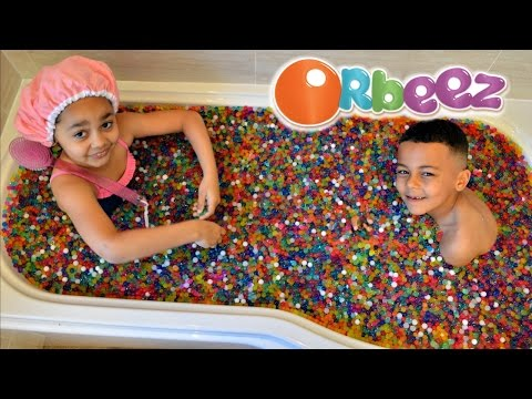 ORBEEZ BATH EXPLOSION