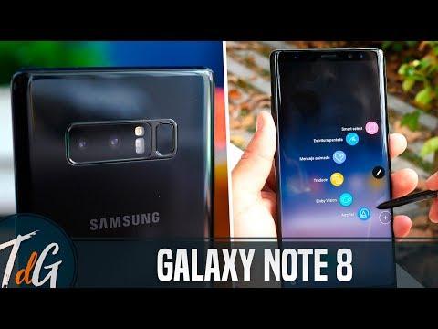 Samsung Galaxy Note 8, REVIEW en español