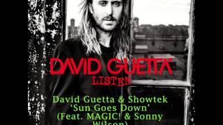 David Guetta & Showtek - Sun Goes Down (Feat MAGIC & Sonny Wilson)