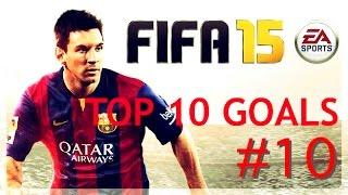 FIFA 15 - TOP 10 BEST GOALS #10 - CRAZY RONALDO