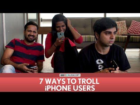 Xxx Mp4 FilterCopy 7 Ways To Troll IPhone Users Ft Akash Deep Arora 3gp Sex