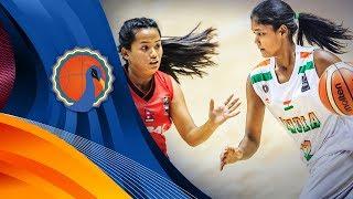India v Nepal - FIBA U16 Women's Asian Championship 2017 - DIV B