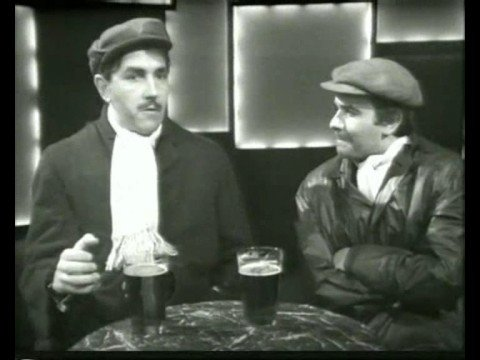 FUNNIEST SKETCH EVER!!! - Peter Cook & Dudley Moore (In the pub)