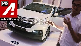 First impression review Daihatsu Great New Xenia baru facelift 2015