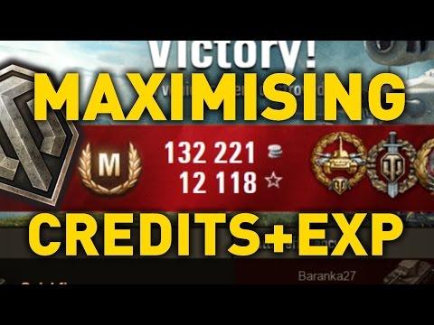 World of Tanks    Maximising Experience and Credits