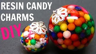 Resin Candy Charms | DIY Project | Craft Klatch | How To | Sphere Pendant