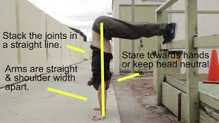 Master Your Handstand - 6 Bodyweight Exercises - pigmie & Tapp Bros