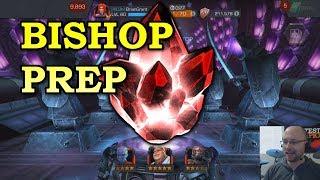 Bishop Prep: 5 star Opening + Rank Ups | Marvel Contest of Champions
