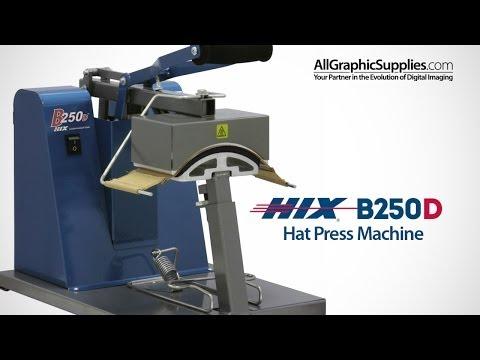 HIX B250D Cap Heat Press - All Graphic Supplies