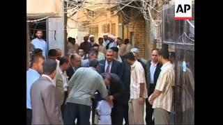 Iraqi PM al-Maliki meeting Grand Ayatollah Ali al-Sistani in Najaf