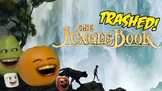 Annoying Orange - THE JUNGLE BOOK TRAILER Trashed!!