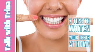 7 Tricks to Naturally Whiten Teeth at Home
