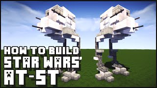 ► Minecraft : How to Make - Star Wars AT-ST