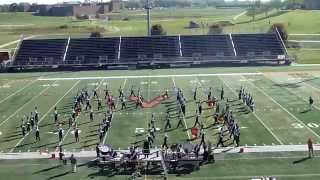 Oskaloosa Marching Indians at ValleyFest XXXV: Fantasia and Beyond