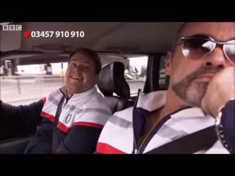 George Michael in James Corden s first Carpool Karaoke for Comic Relief