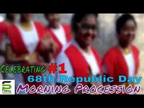 68th Republic Day | Morning Procession (Provat Feri) | Part - I | Santragachi New Star Club | 2017