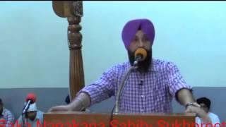 Saka Nanakana Sahib- Dr.Sukhpreet Singh Udhoke