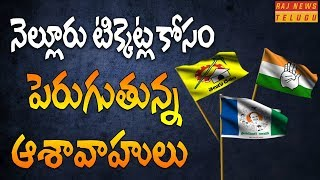 AP Politics: Huge Demand for Nellore District Constituencies Tickets from YCP, TDP