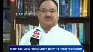 JP Nadda: Nearly one lakh parents benefited across the country under PMJAY