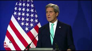 Secretary of State John Kerry addresses Iran nuclear deal