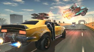Death Race Road Battle Android Game Play - 3D Car Games - Best Car Racing Wala Game For Download