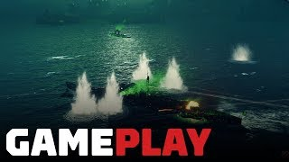 World of Warships: Action Stations Gameplay