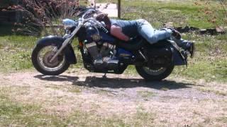 Bubbie on his bike.wmv