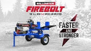 Faster & Stronger - Wallenstein Firebolt 2x2 Speed Log Splitter
