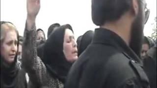 مراسم خاکسپاري محمد و عبدالله فتحي