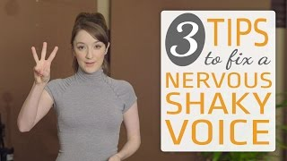 3 ways to fix a nervous singing voice - Sing with confidence!