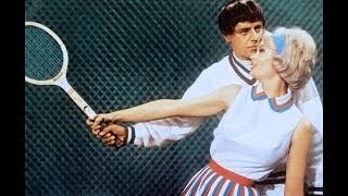 Jerry Lewis gets Funny Tennis Lesson