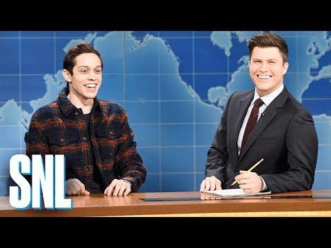 Xxx Mp4 Weekend Update Pete Davidson On Filming A Commercial SNL 3gp Sex