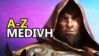 ♥ A - Z Medivh - Heroes of the Storm (HotS Gameplay)