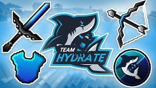 Team Hydrate OFFICIAL Resource Pack RELEASE! [64x]