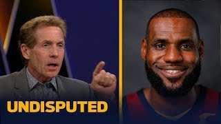 Skip Bayless on LeBron and Wade joining forces again: 'I've never seen LeBron happier'   UNDISPUTED